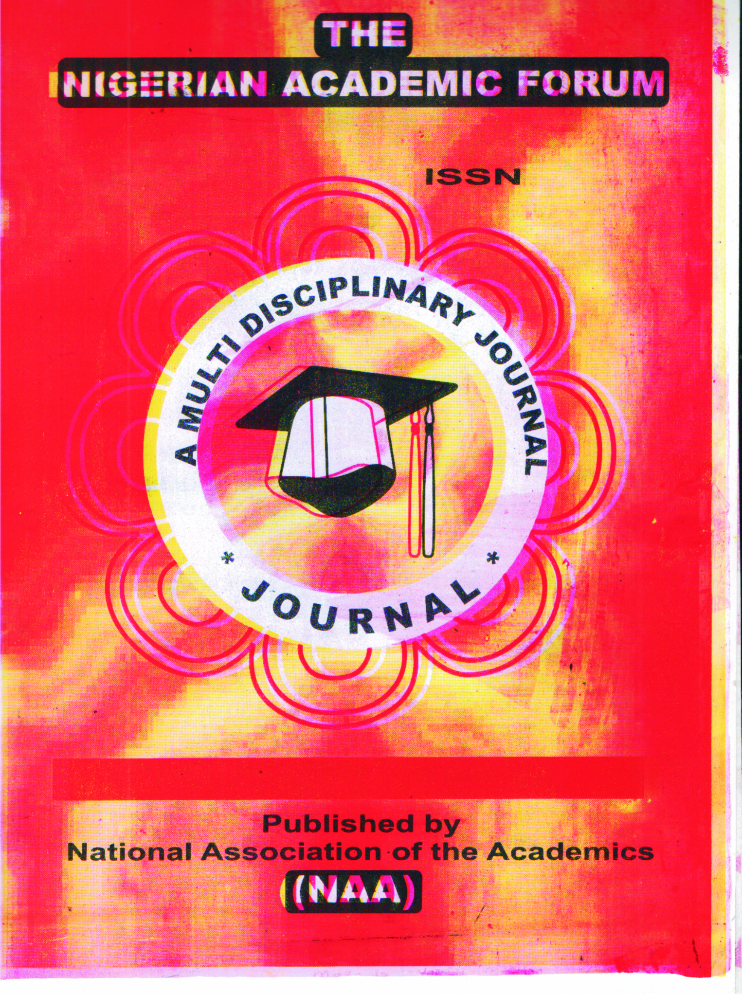 The Nigerian Academic Forum