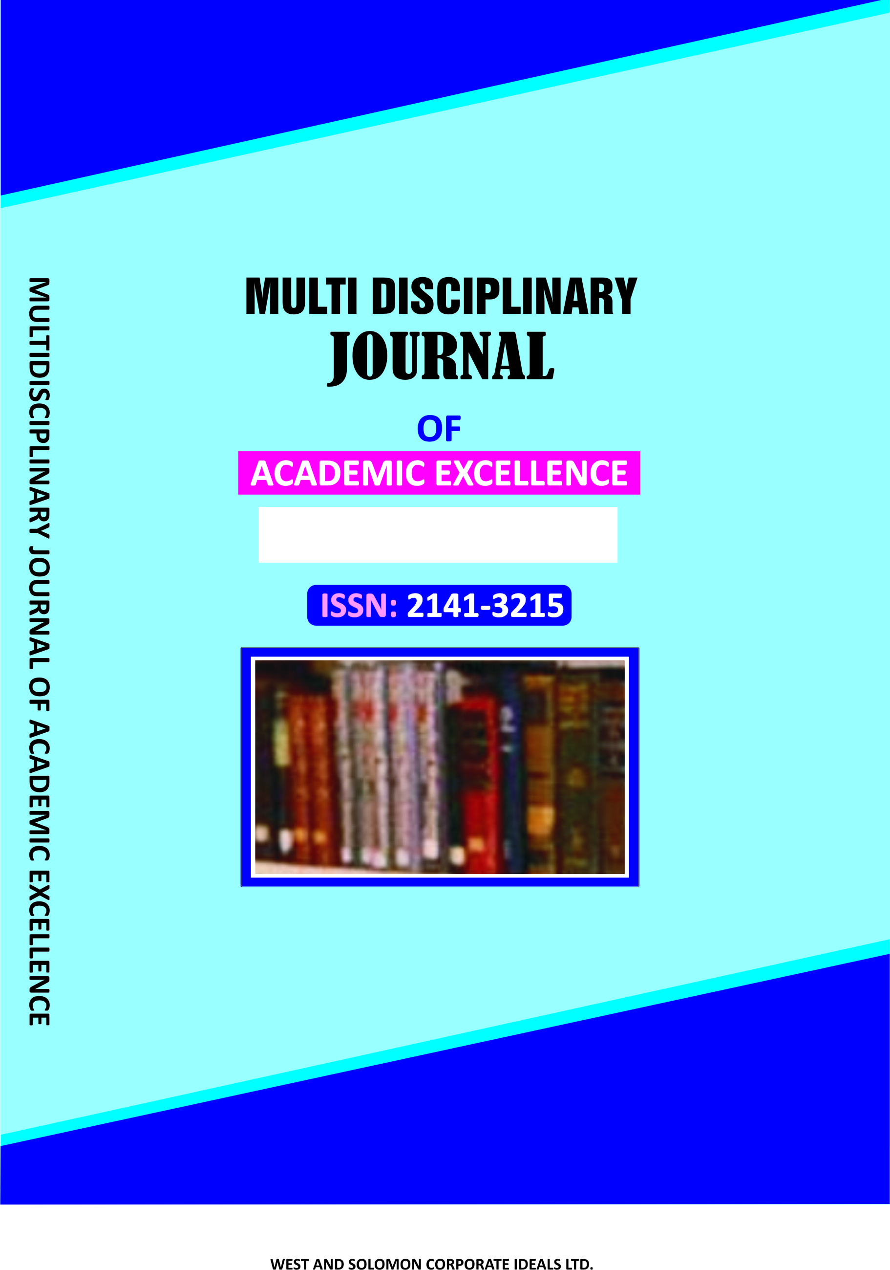 Front Cover of Journal