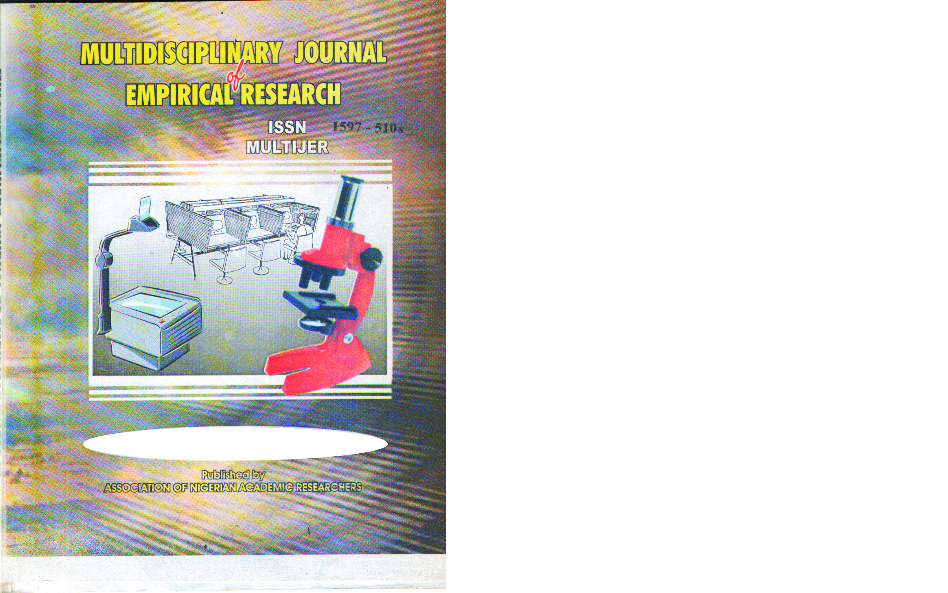 About Multidisciplinary Journal of Empirical Research